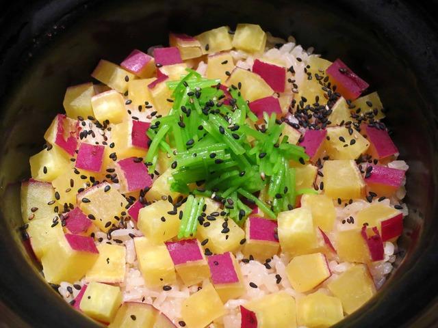五郎島金時の炊き込みご飯 1_edit