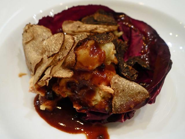 スモーク秋刀魚とトリュフのポテトサラダ 2_edit