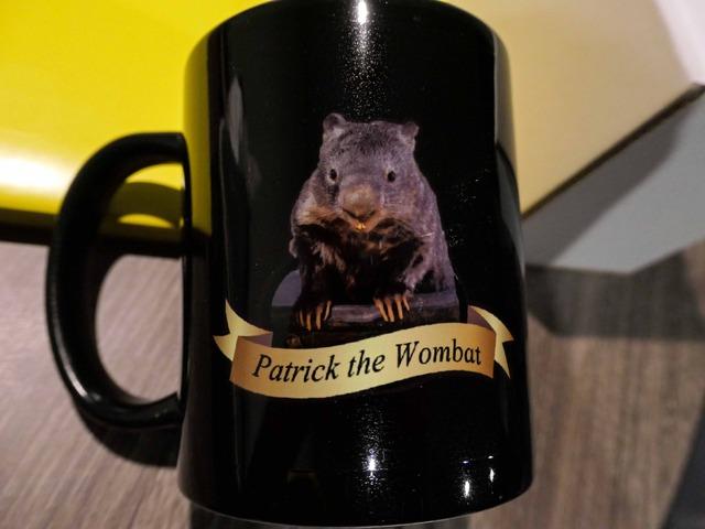 マグカップ(Patrick the Wombat) 1_edit