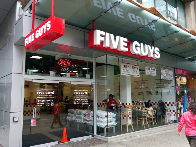 Five Guys_Vancouver House 店 4_edit