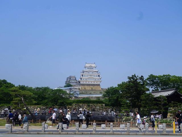 姫路城前 1_edit