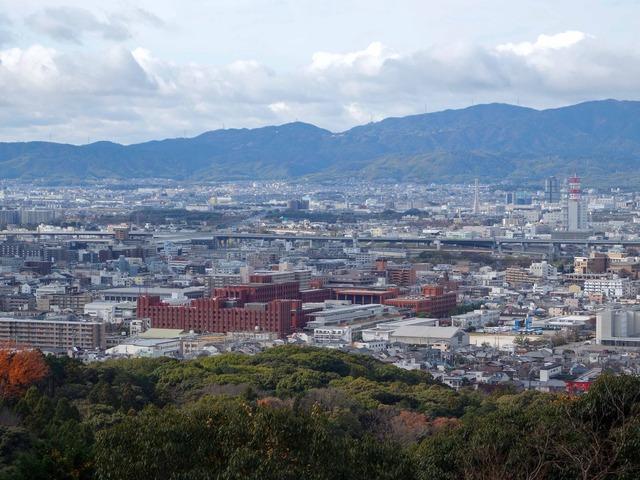 三徳社から京都市南部を望む 6_edit