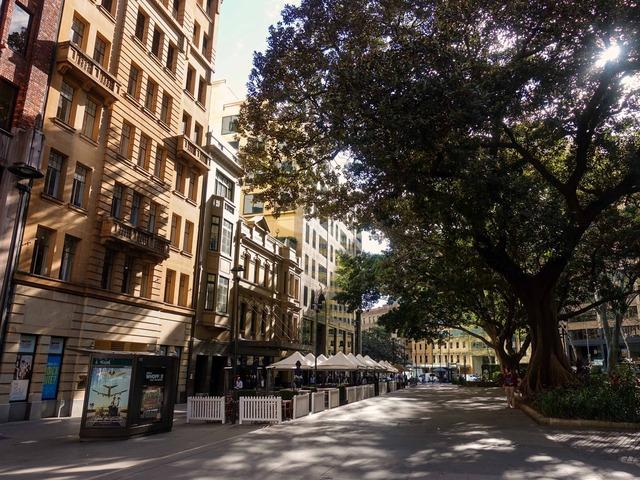 Bridge St から Macquarie Place を望む_edit