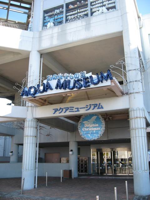アクアミュージアム入り口 1