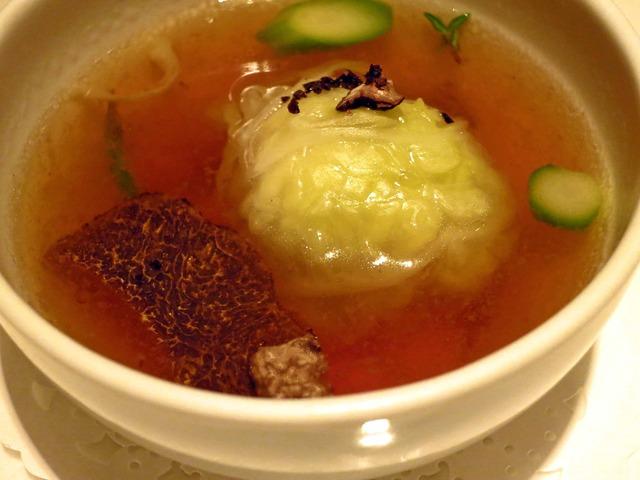 茨城県産フェザンのコンソメスープ フレッシュタイム風味 3_edit