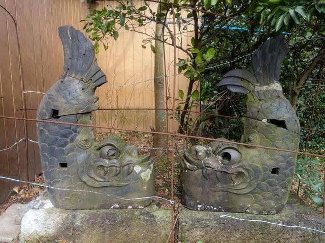 佐倉城の城門にあった鯱_edit