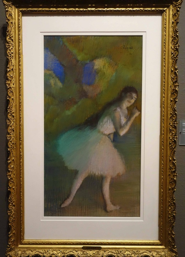 ドガ 『Ballet Dancer on Stage』 2_edit