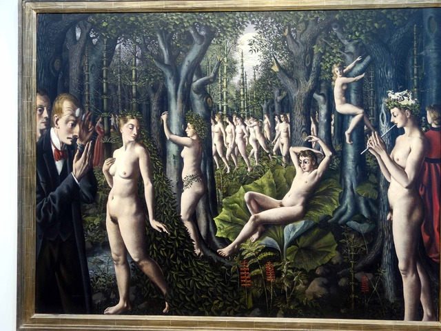 Paul Delvaux 『The Awakening of the Forest』 2_edit