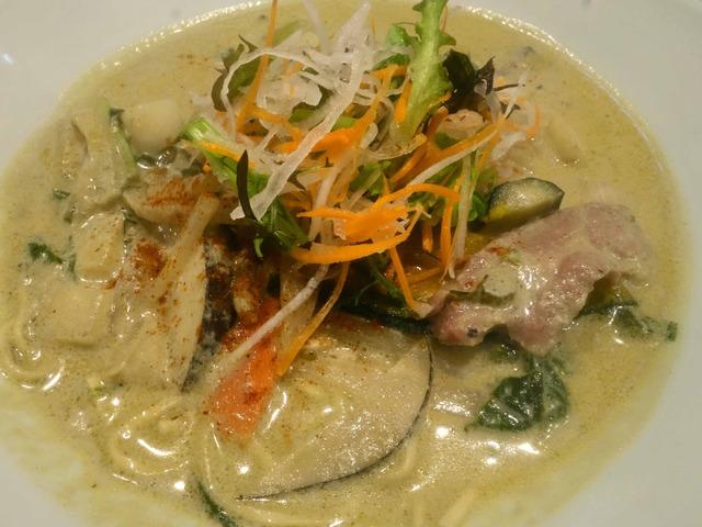 グリーンカレー麺 3_edit