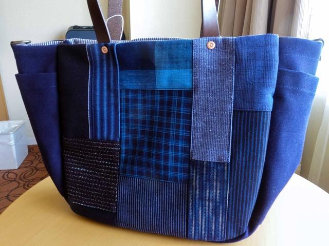 藍染めのバッグ 2_edit