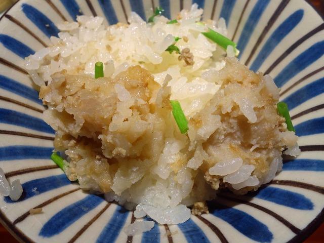 鴨ひき肉と海老芋の炊き込みご飯 2_edit
