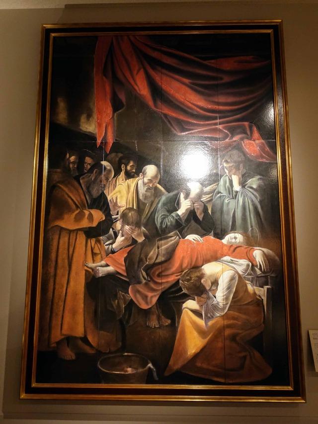 カラヴァッジョ『聖母の死』 2_edit