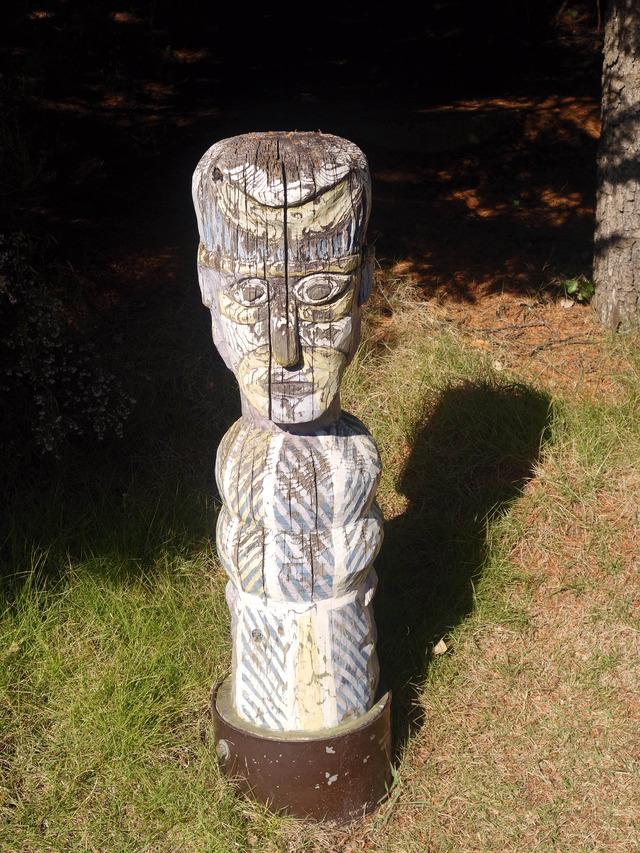 アボリジニの墓標彫像 2_edit