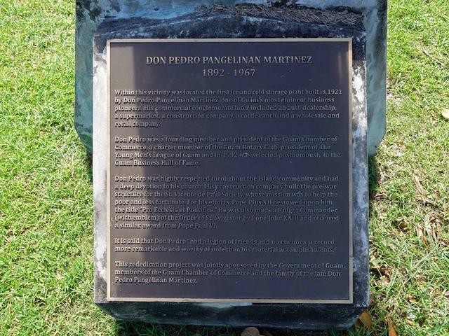 Pedro Pangelinan Martinez の像 3_edit