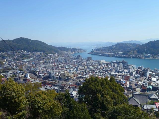 千光寺から尾道市街を望む 5_edit