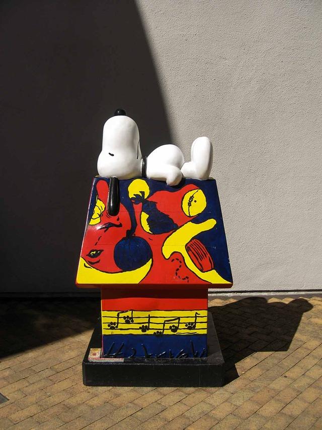 屋根の上の Snoopy_edit