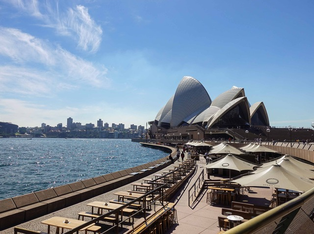 Circular Quay からオペラハウスを望む 3_edit