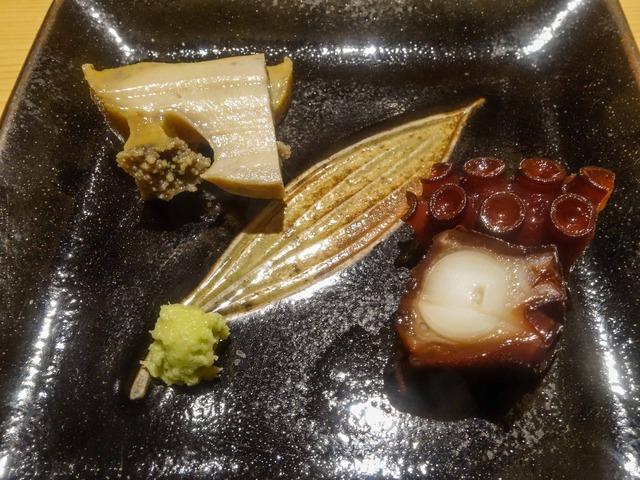 蒸しアワビとタコの桜煮 1_edit