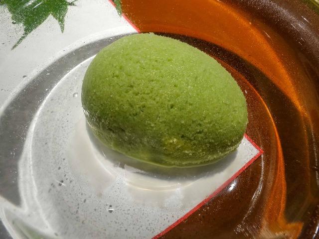 甘味(抹茶のアイス) 1_edit