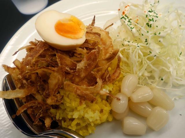 赤い鶏カレー(小盛) 4_edit