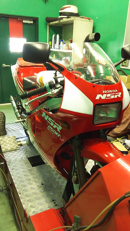 NSR250R MC16 ワンオフチャンバー 031