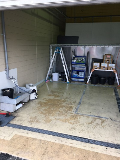 OGKカブトイベント洗車チェーン清掃 (2)