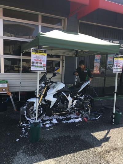 菊陽2りんかんハーレー熊本洗車イベント (1)