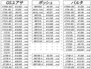 ■バッテリー単品POP★201912棚割版