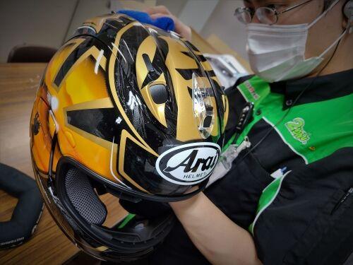 ヘルメットコーティング�