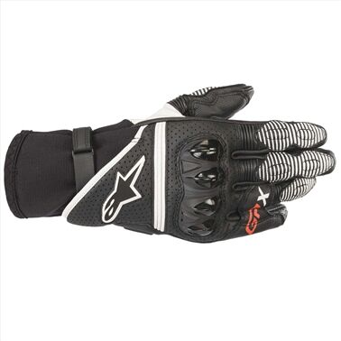 GP_X_V2_GLOVE 12 BLACK WHITE M 1