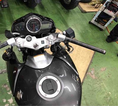 GSR250 ハンドル