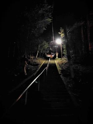 永遠と続く階段
