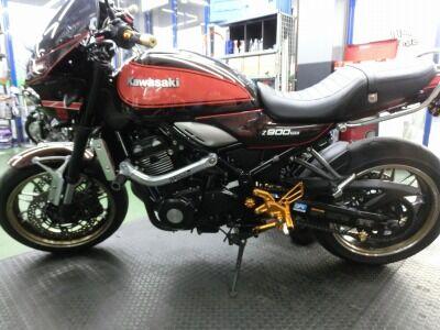 岡山 倉敷 福山 バイク車検 バイク任意保険 Z900RS (2)