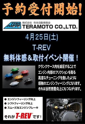 緑2りんかん T-REV 寺本自動車商会 TERA MOTO