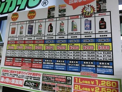 岡山 福山 倉敷バイク車検 タイヤ オイル バッテリー