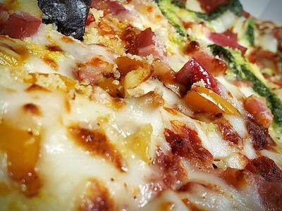 ピザにカロリーはタブーです