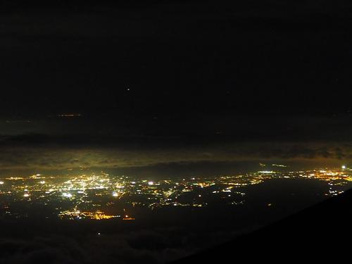 富士登山 (1)夜景