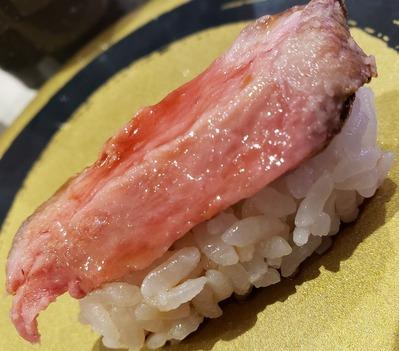 回転寿司でもお肉が・・・