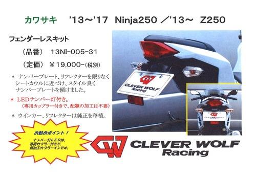 KW Ninja250 13-17