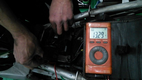 NSR250R メインハーネス コシウエ027