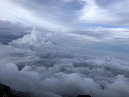 富士登山 (8)雲海