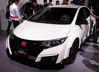 HONDA Civic type R 緑2りんかん