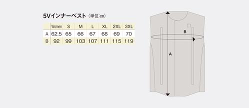 Heat Masterサイズ表