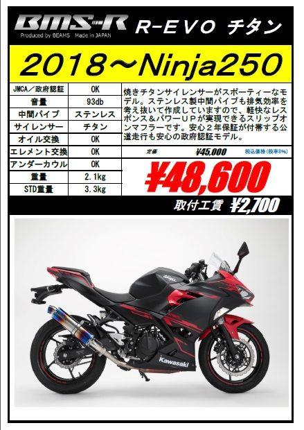 ニンジャ250 POP