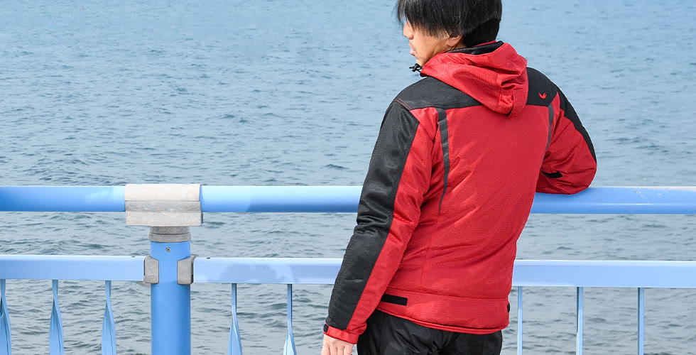 DSJ001 フーディメッシュジャケット