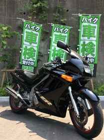 ZZR250 フォークOH
