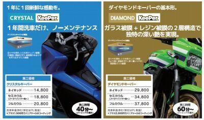 岡山 倉敷 福山 バイク車検 バイク任意保険 KeePer (6)