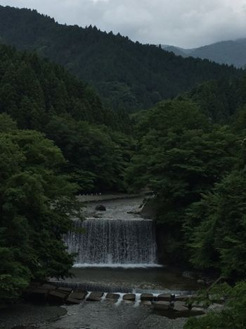 裏ヤビツ滝