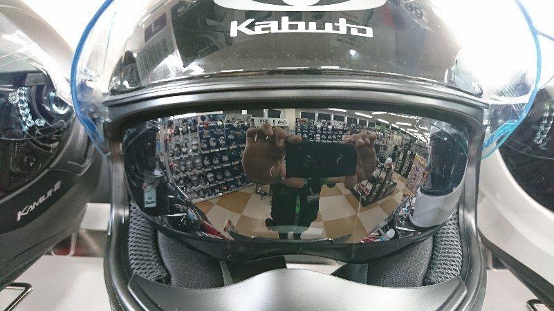 KAMUI3インナーバイザー比較用