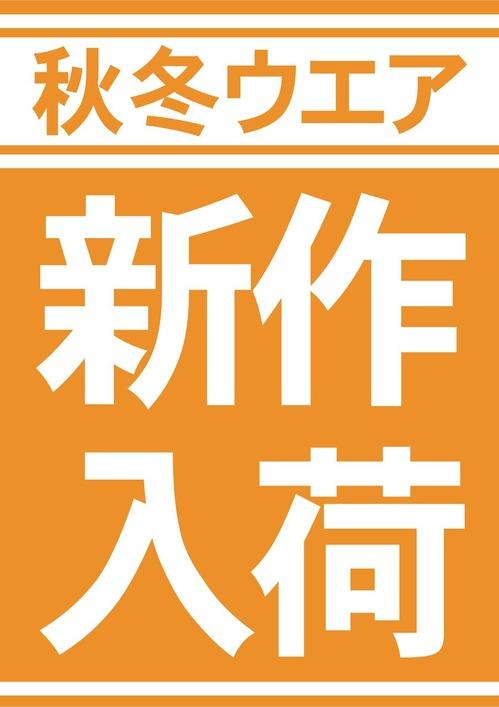 新作入荷_A縦-秋冬ウエア2